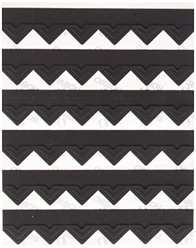 Self Carson Adhesive (Canson Self Adhesive Photo Corners, Peel-Off Archival Quality, Black, 252-Pack)