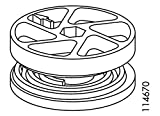 Spare Hardware Parts Wheel Lock for IKEA MALM