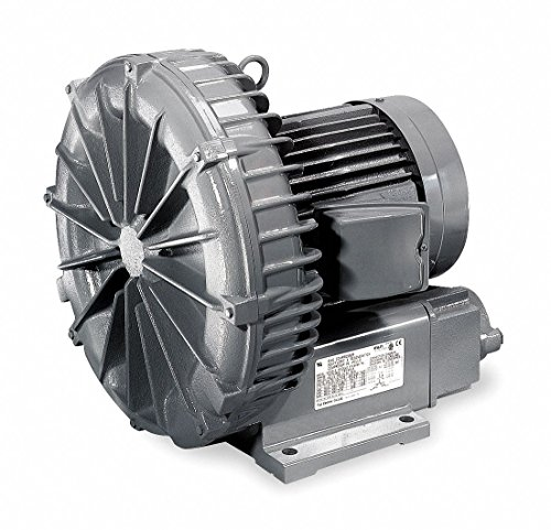Regenerative Blower, 0.37 HP, 42 CFM
