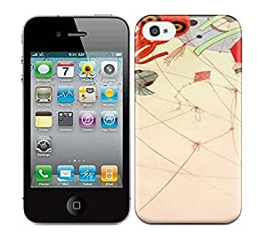 Best Power(Tm) HD Colorful Painted Watercolor Illustrations Hard Phone Case For Iphone 4/4S