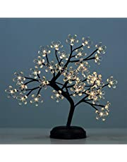 LIGHTSHARE Floral Bonsai, LED Decorated