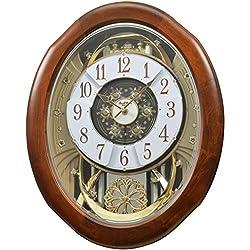 Rhythm Clocks Magnificent Magic Motion Clock