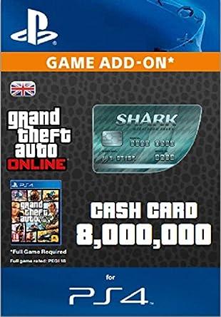 Grand Theft Auto Online   GTA V Great White Shark Cash Card
