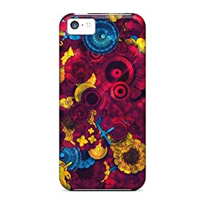 Hot New Psychedelic Life Case Cover For Iphone 5c With Perfect Design