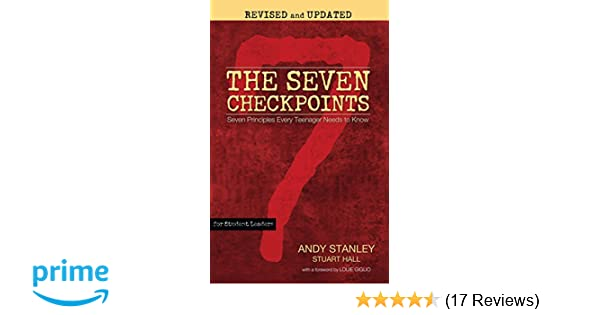 Amazon The Seven Checkpoints For Student Leaders Seven