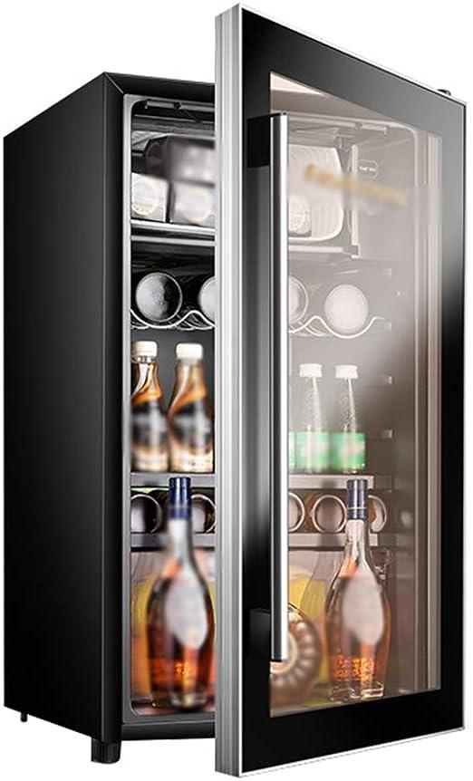 Mini Nevera Negra Enfriador De Vino Refrigerador De Cerveza/Vino ...