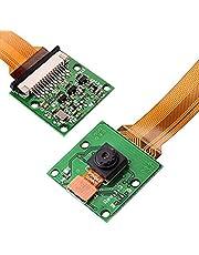 Cable and Adjustable Camera Module Mount for Raspberry Pi Model A B B+ Zero W, Pi 2 Pi 3 and Pi ZERO + Pi Zero FPC Cable 15cm SC09