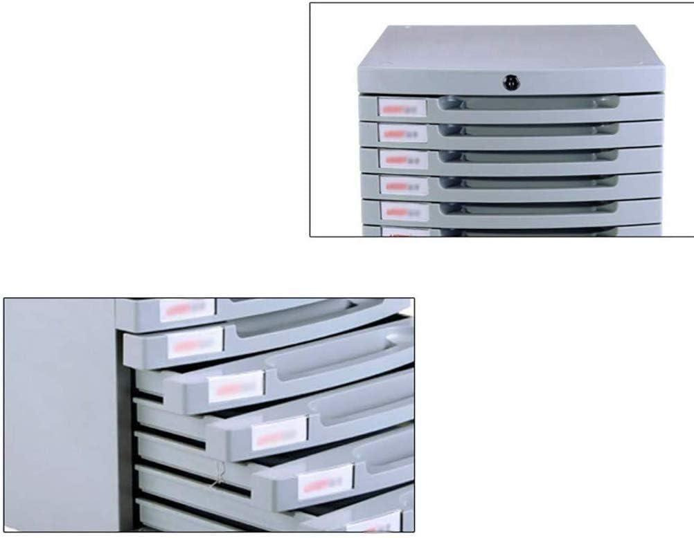 ファイルキャビネットデスクストレージユニット主催快適なプルにおけるデザイン大型宇宙スライドレール引き出しスムーズなオフィスPpのプラスチック - 30x38x31.5cm ファイリングキャビネット