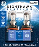 GE 9005NHP/BP2 Nighthawk PLATINUM Headlight Bulbs (High Beam), Pack of 2 (Automotive)