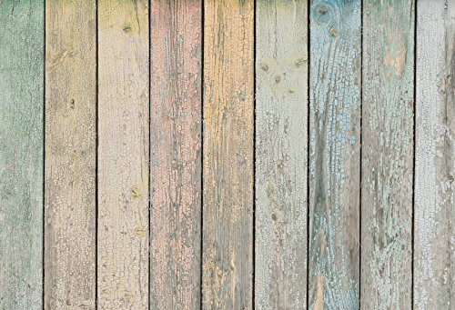 Yeele 5x4ft Color Wooden Board Backdrop Vintage Wood Floor Rustic Plank Texture Design Home Photography Background Adult Kid Baby Party Portrait Photo Booth Video Shoot Studio -