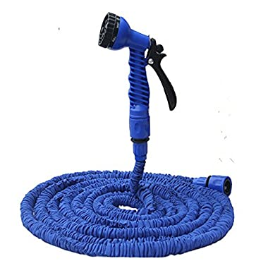 Garden Hose 100FT Stretched Hose Watering Green Magic Hose Pipe Yard With Spray Gun tuinslang arrosage manguera extensible Blue