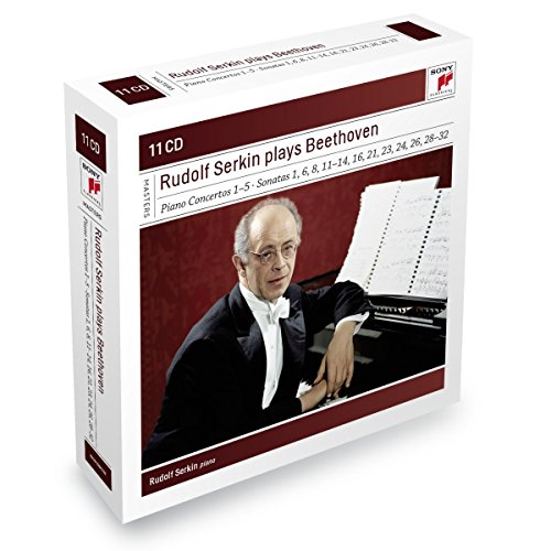 Price comparison product image Rudolf Serkin plays Beethoven concertos,  sonatas & variations