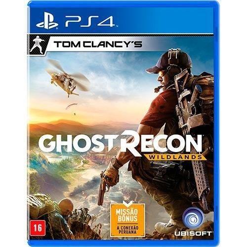 Jogo Tom Clancys Ghost Recon Wildlands - PlayStation 4