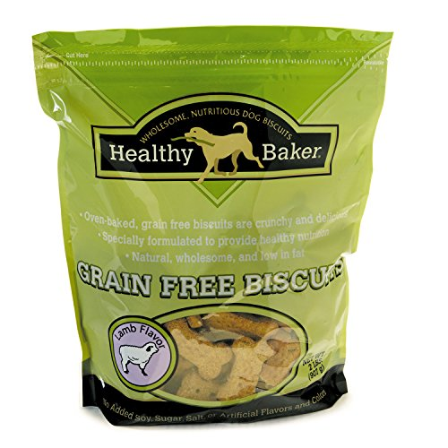 (Healthy Baker Grain-Free Biscuits — Wholesome And Delicious Treats For Dogs - Lamb, 2