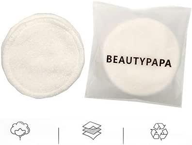 Discos desmaquillantes reutilizables 6 / 8pcs pastillas for quitar ...