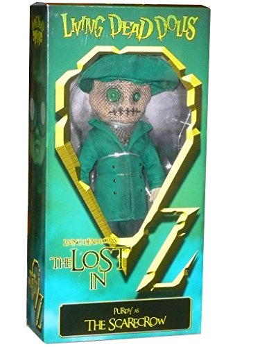 (Living Dead Dolls - The Lost In OZ Exclusive Emerald City Variant - Purdy as The Scarecrow)
