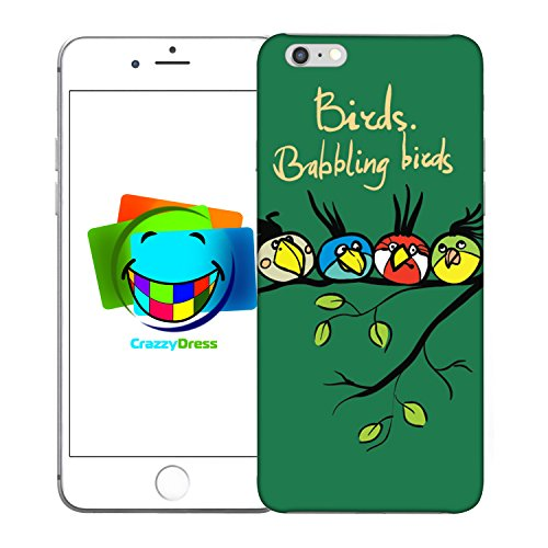 Bralexx 9213#_iPhone_6_6S_Plus_Birds_10 Schutzhülle für Apple iPhone 6/6S Plus