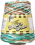 Lily Sugar 'N Cream Yarn, 14 Ounce Cone, Ahoy Ombre