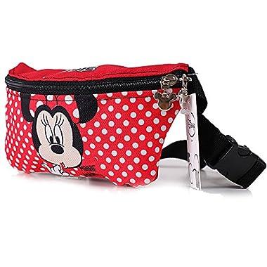 Disney Minnie Mouse Zippered Waist Pack Belly Bag