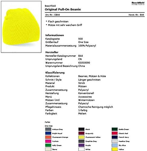 de punto amarillo Shirtfrog para Gorro hombre 8qva4Ax