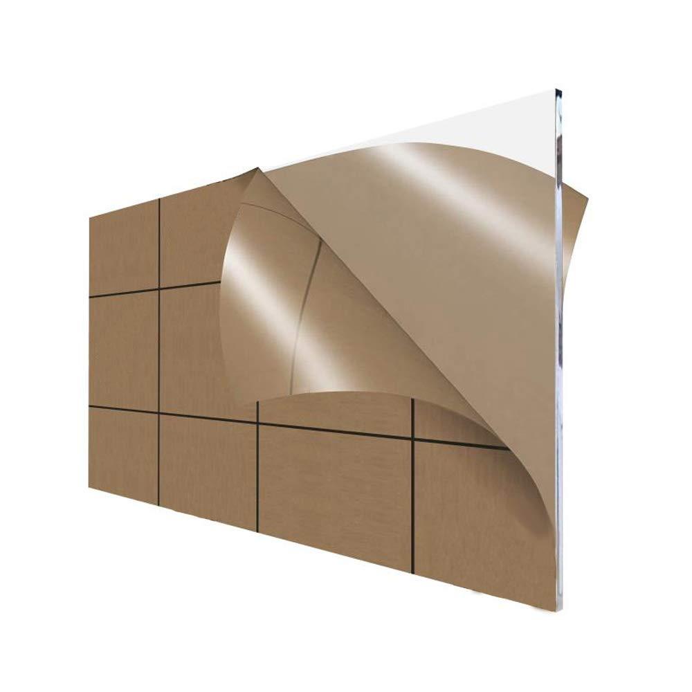 "Clear Mirror Acrylic Plexiglass sheet 1//8/"" x 4/"" x 4/"" pack of 2"