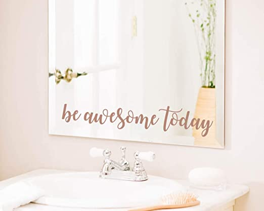 Wedding Bathroom Mirror Sticker Vinyl Decal Now Go Party B You Look Amazing