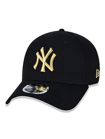 BONE 3930 NEW YORK YANKEES MLB ABA CURVA PRETO NEW ERA  Amazon.com ... 7e98aeae4c7c7