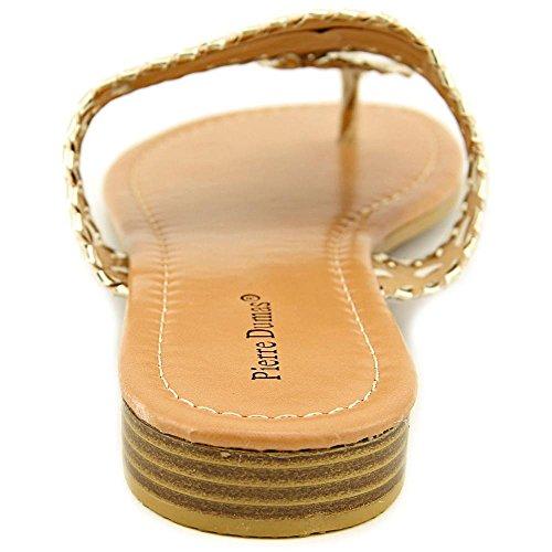1 Women's Sandals on Slip Pierre Dumas Cork gold Rosetta nHpSvwtqx