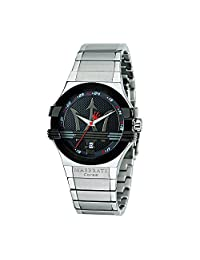 Maserati Men's Potenza R8853108001 Silver Stainless-Steel Analog Quartz Watch