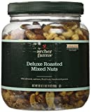 Archer Farms Roasted Deluxe Mixed Nuts Unsalted 30oz