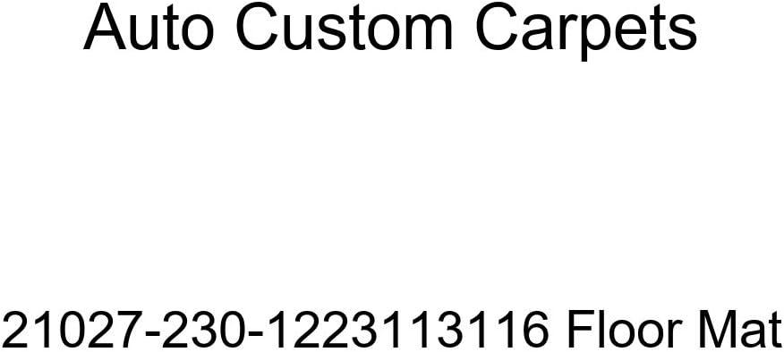 Auto Custom Carpets 21027-230-1223113116 Floor Mat