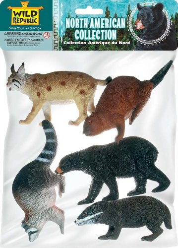 Polybag-North American Animal Collection 5 Pieces (Animals Bobcat)