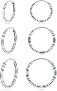 Sweepstakes: Small Cartilage Hoop Earrings Set