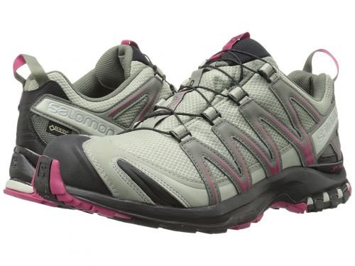 Salomon XA Pro 3D GTX - Zapatillas de Trail para Mujer, 0 Shadow/Black/Sangria, 5: Amazon.es: Deportes y aire libre