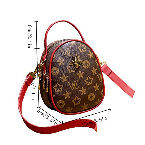 Leisure Tracolla Clutch Elegante Da Piccola Clutch Multifunzionale Moda Womens Spinotto Per Red Bags A Borsa Tasca Tote Cuffie Donna Bags Movimento Ape Rvqvzw