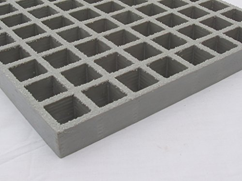PROGrid Molded Fiberglass Grating - GP15-LG-G, 144 In Length by PROGrid