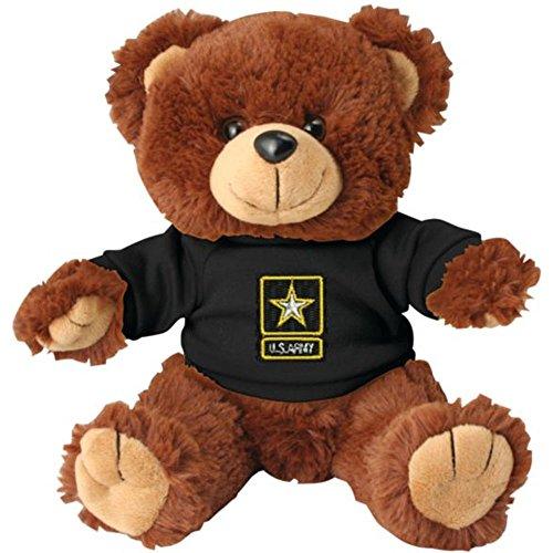 Honor Country US Army Star Plush Toy Teddy Bear ()
