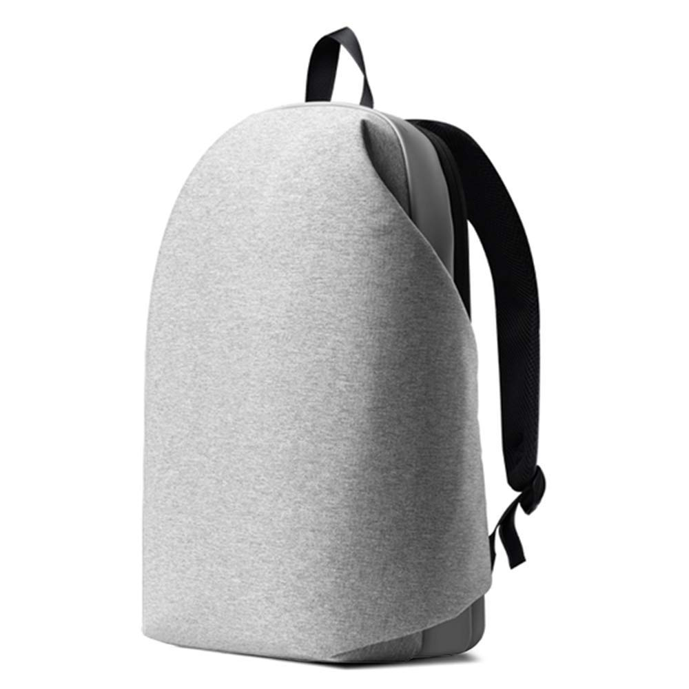 Lixada1 Meizu バックパック 15.6インチ ノートパソコン用 防水 アーバンレジャー 旅行 バックパック スクールバッグ  グレー B07GKKDQW4