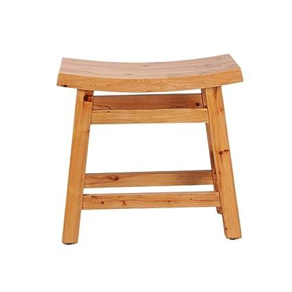 Pleasant Amazon Com Gjd Shower Bath Stools Wooden Shower Seat Stool Ibusinesslaw Wood Chair Design Ideas Ibusinesslaworg
