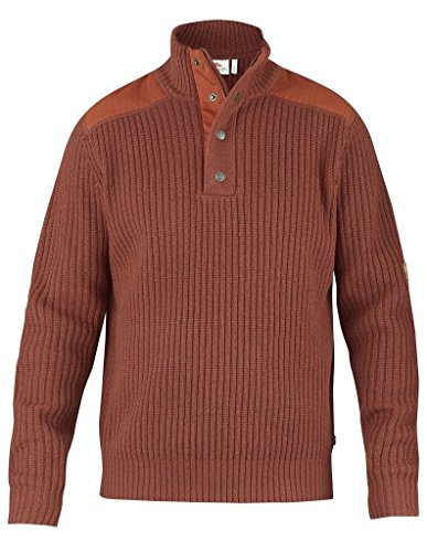 Price comparison product image Fjallraven Varmland T-Neck Sweater - Men's Autumn Leaf Large