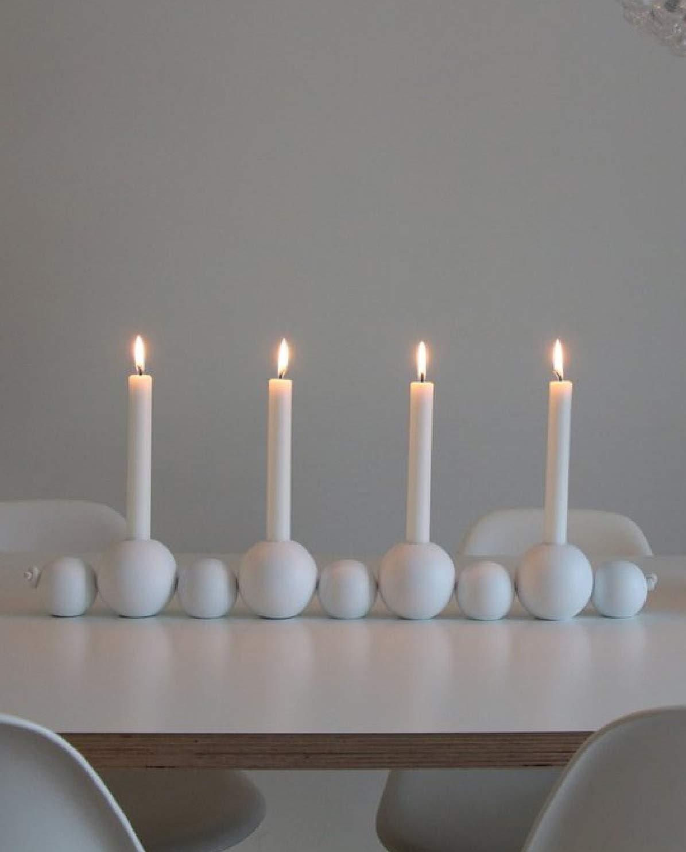 Cooee Diseño - - Balón de fútbol para 4 Velas de - White: Amazon ...