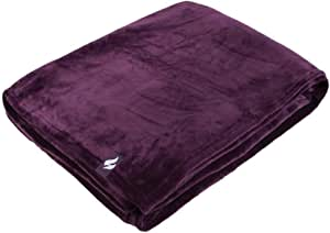 Heat Holders Snuggle Ups Oversized Luxury Thermal Throw-Blanket (Mulled Wine)