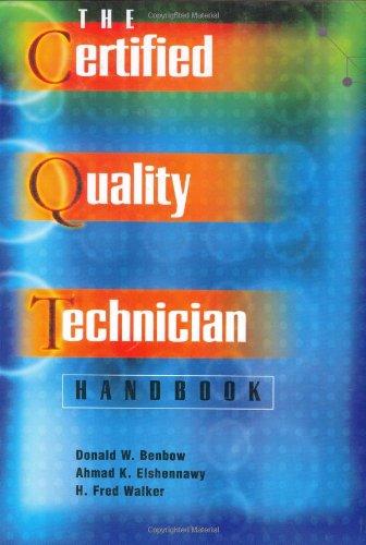 The Certified Quality Technician Handbook