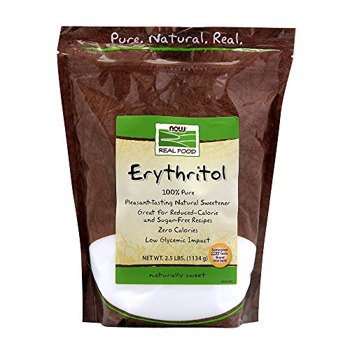 NOW Foods Erythritol,2.5-Pound (Artificial Sweetener)