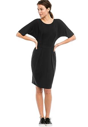 Ellos Womens Plus Size Knit Tie Waist Dress At Amazon Womens
