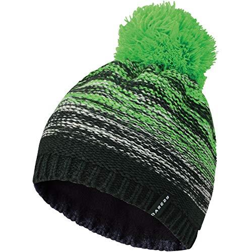 Dare Mens 2b Knit Warm FairwayGreen Lined Hat Fleece Acrylic Rile HPAr4H