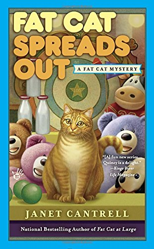 book cover of Fat Cat Spreads Out