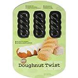 Wilton 2105-0627 Doughnut Twist Pan, 6-Cavity