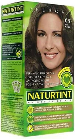 Lote de 2 tintes Naturtint, tinte para el pelo, 6 N rubio oscuro, 135 ml
