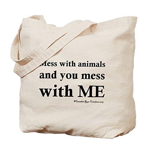 CafePress Unique Design Animal Protector Tote Bag - Standard Multi-color by CafePress